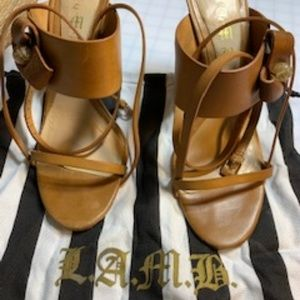 Tan Leather Stappy Sandal
